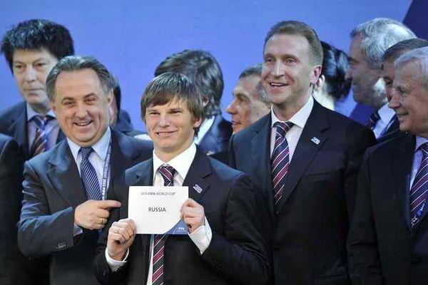 Die Fußball-WM 2018 in Russland