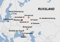 Die WM-Spielorte 2018 in Russland