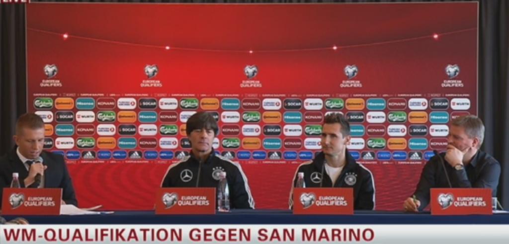 DFB Pressekonferenz vor dem Länderspiel gegen San Marino