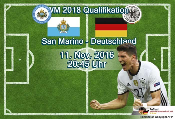 San Marino gegen Deutschland – oder auch David gegen Goliath live bei RTL