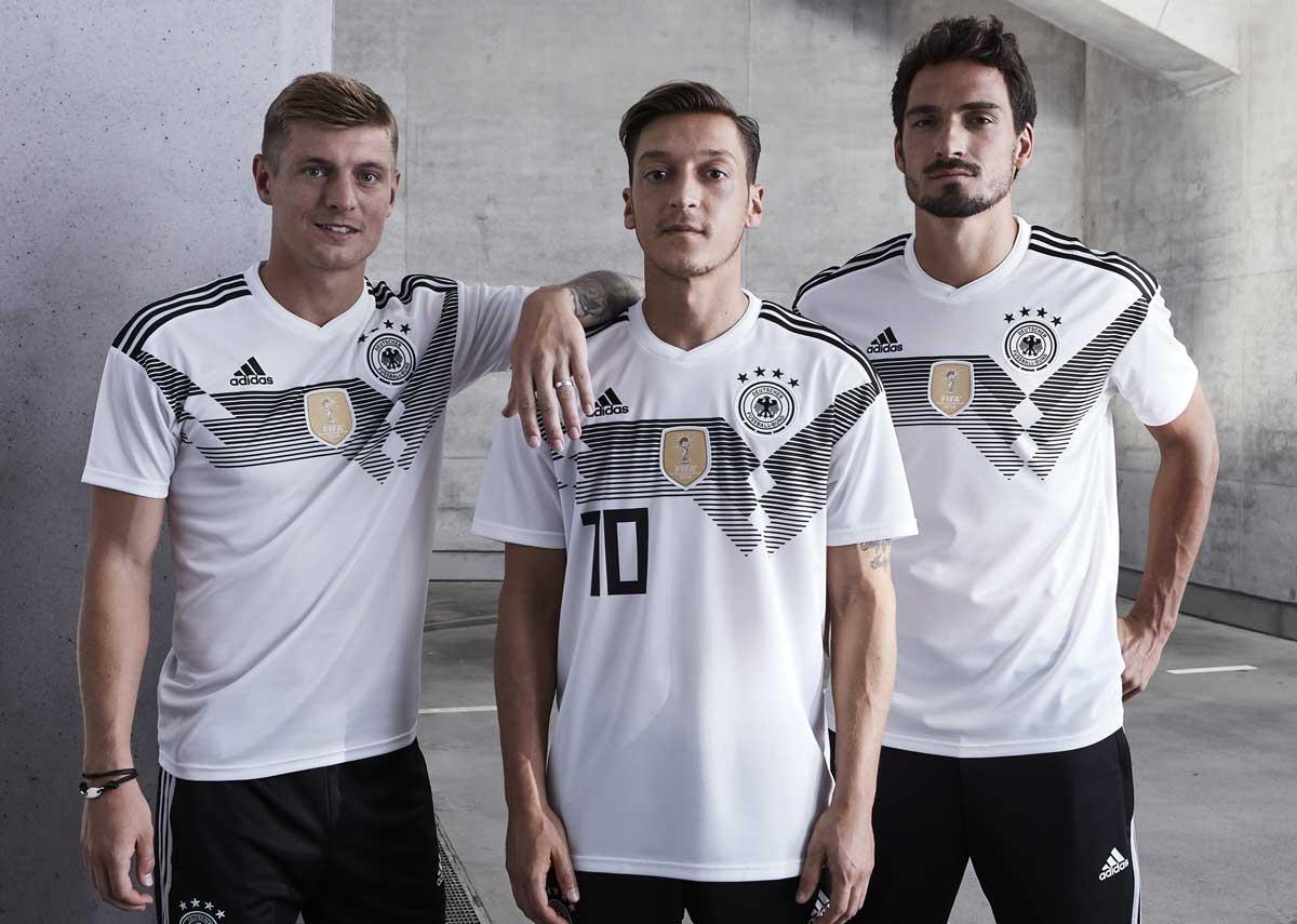 Das neue Deutschland Trikot 2018 (Quelle:adidas)